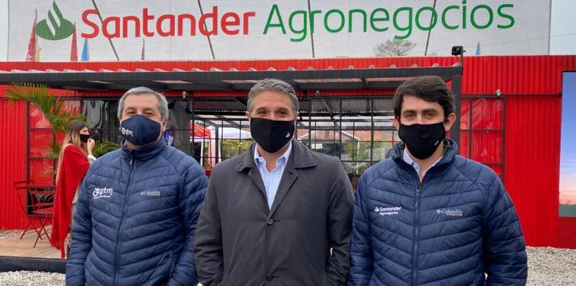 Ariel Bejerez, Gustavo Trelles y Rodrigo Preve